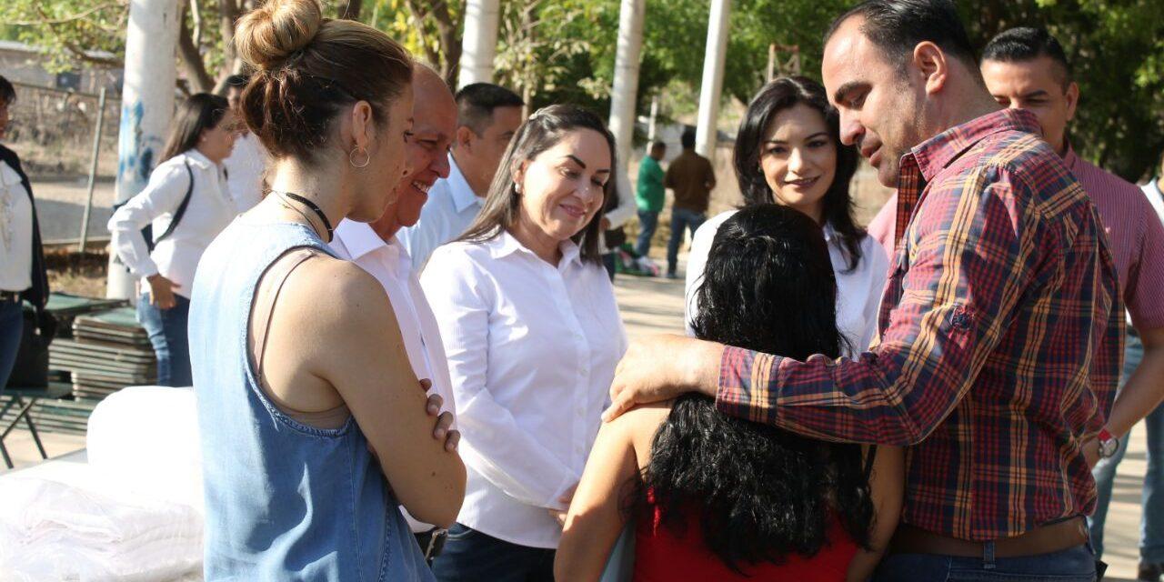 Agustín Morales , acompañó el arranque de las campañas locales en Comala