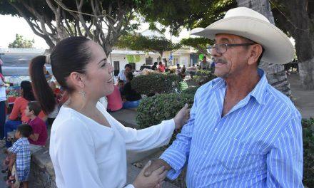 Comerciantes de Lo de Villa expresan su respaldo a Martha Zepeda