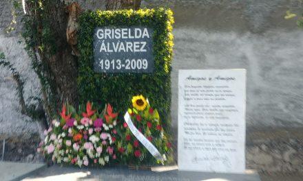 Recuerdan el 105 aniversario del natalicio de Griselda Alvarez