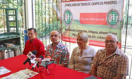 Campesinos de Colima firmarán acuerdo con AMLO en Zacatecas