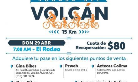 Habrá Rodada conmemorativa en el Volcán Fest 2018