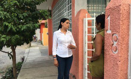 La inseguridad la principal demanda que ha captado Vianey Chapula en La Villa