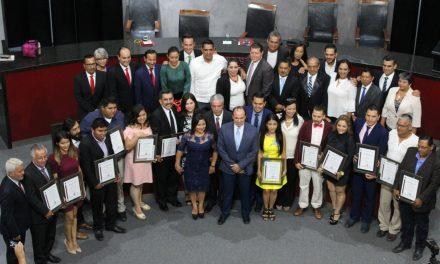 Entrega Congreso el Premio Estatal de Periodismo 2018; Llaman a valorar el trabajo periodístico