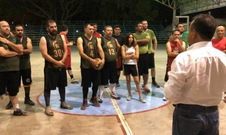 Deportistas de V. de A. piden una Escuela de Basquetbol en a Felipe Cruz Calvario