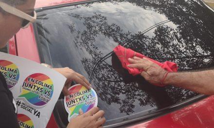 Pega de calcas de Mayo, Mes Contra la Homolesbobitransfobia