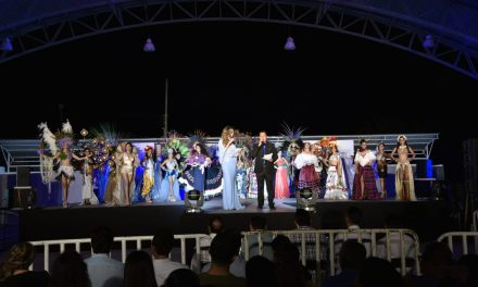 Representante de Campeche, ganadora de etapa de Traje Típico de Miss Earth
