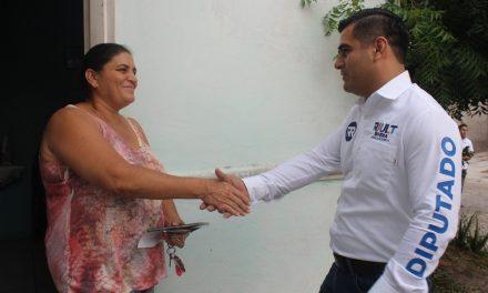 Se compromete Riult Rivera a seguir llevando un trabajo responsable en el Congreso
