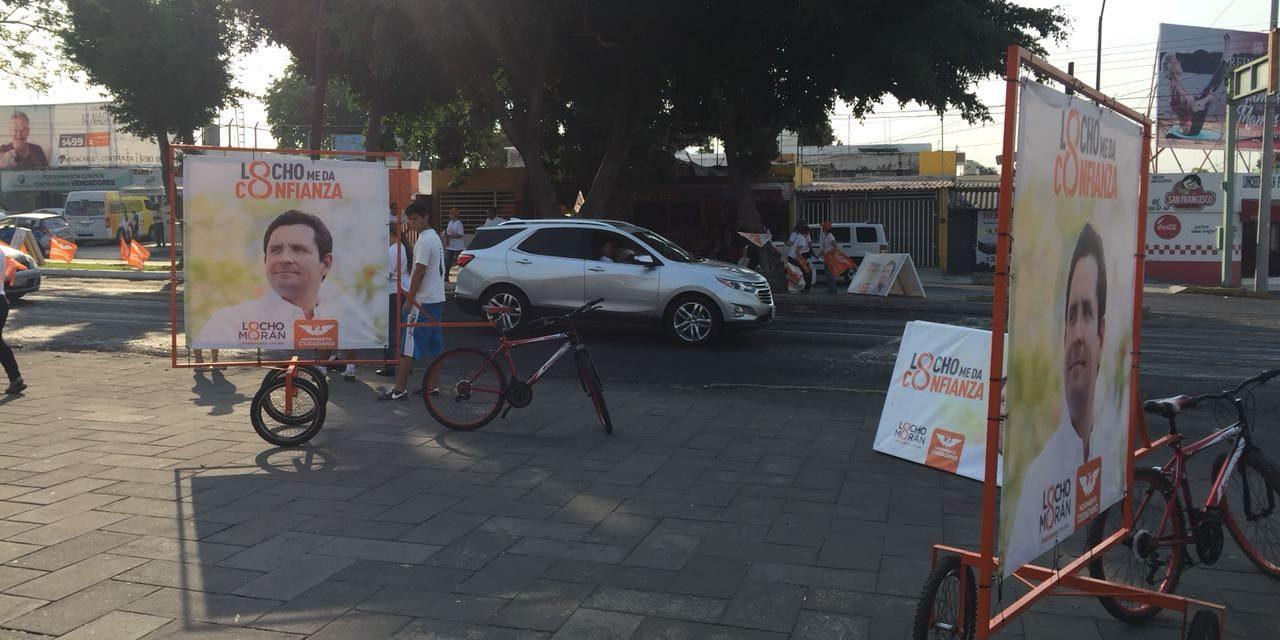 Altercado entre brigadistas del PRI y  MC; acusan a Leoncio Morán de romper la civilidad