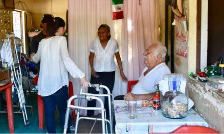 Prioritario que personas con discapacidad reciban atención oportuna en sus hogares: Martha Zepeda