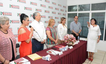 Rinde protesta a María Rubio Bayón como delegada especial del ONMPRI en Colima