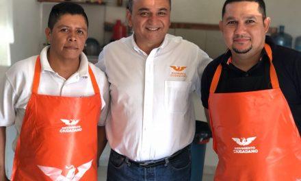 Se compromete Felipe Cruz a que habrá transporte público en todas las colonias de La Villa