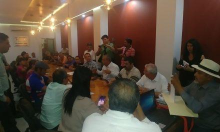 Legisladores locales recibieron a integrantes del Consejo Nacional Ciudadano