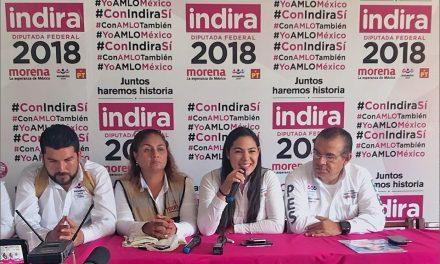 Debemos salvar a Manzanillo, Colima y México de diputados como Pico Zepeda: Indira Vizcaíno