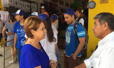 """""""Recuperaremos la seguridad de Manzanillo para fomentar el turismo"""": Martha Sosa"""