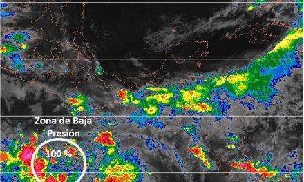 Aviso de Ciclón Tropical en el Océano Pacífico