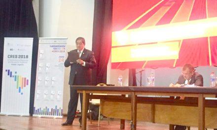 Participa rector en mesa de debate  internacional sobre educación
