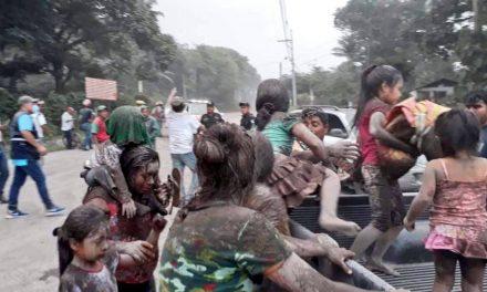Peña Nieto externa solidaridad con Guatemala por erupción del Volcán de Fuego