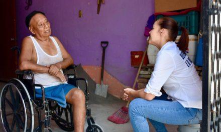 Martha Zepeda a favor de personas con discapacidad reciban atención oportuna