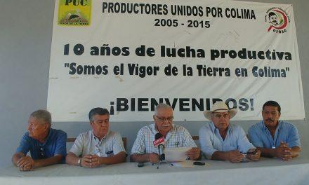 Productores Unidos acusa de indolente y frívolo, actuar del gobernador Peralta