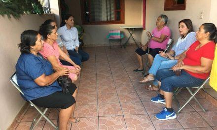 """Votar por Vianey Chapula será dar un paso hacia adelante; """"seré su aliada"""", dice"""