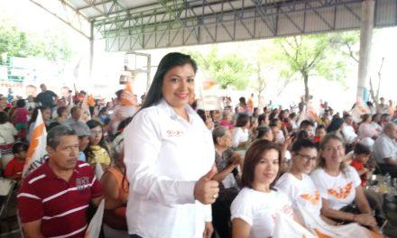 Llama Gladia Mendoza a votar por los candidatos de MC, el próximo domingo