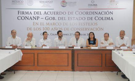 Van Federación y Gobierno del Estado  por la conservación de áreas naturales