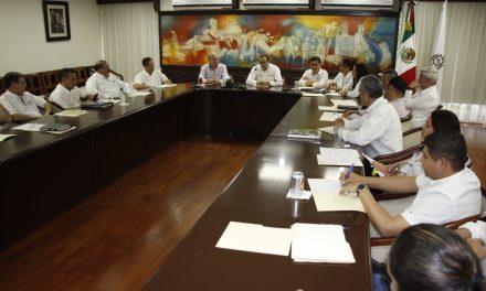 Pide Gobernador a gabinete continuar trabajandoa favor de la ciudadanía colimense