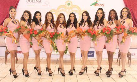 Presentan a aspirantes a Reina de la  Feria de Todos los Santos Colima 2018