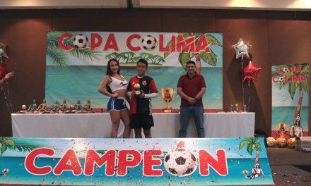 Participan 1 mil 440 jugadores en la  Quinta Edición de la Copa Colima de futbol