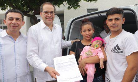 Entrega JIPS edificio remodelado y tres  unidades móviles a Prospera en Colima