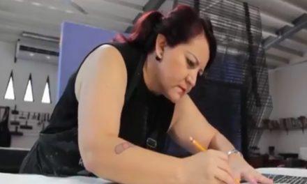 La Artista Mónica Cid, realizó taller  de alternativas gráficas en Colima