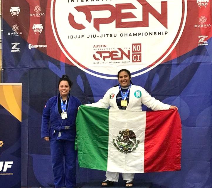 Gana Osa Gaviño oro y bronce en  Torneo de Jiujitsu, en Texas