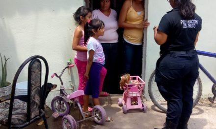 Policía de proximidad intensificarecorridos en barrios y colonias
