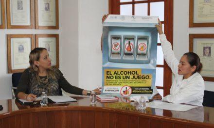 Promueve Gobierno del Estado  la no venta de alcohol a menores