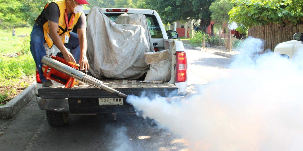 Avanza segundo ciclo defumigación contra dengue; concluye el 4 de agosto
