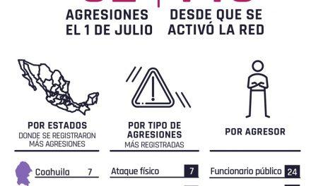 Cincuenta y dos agresiones en contra de periodistas se registran el 1 de julio