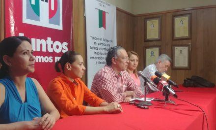No basta mi renuncia; el PRI requiere de transformaciones profundas: Rogelio Rueda