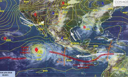 Protección Civil, informa sobre condiciones meteorológicas para Colima