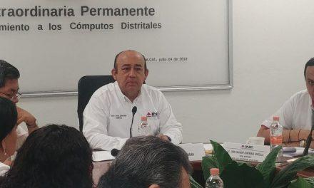 Vocal Ejecutivo del INE en Colima reprueba hechos violentos contra funcionarios electorales en Puebla