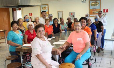 Brinda Gobierno herramientas para incrementar  calidad de vida a personas adultas mayores