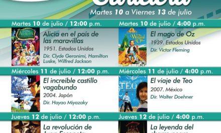 CINE VERANO 2018, EN LA SALA DE CINE UNIVERSITARIA, DEL 10 AL 13 DE JULIO