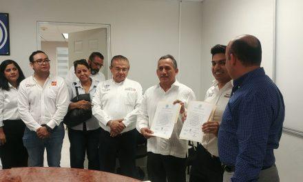 Reciben su constancia como Senadores Electos, Joel Padilla Peña y Gricelda Valencia de la Mora