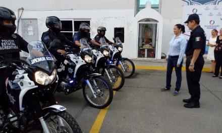 Seguimos fortaleciendo la seguridad pública del municipio: Yulenny Cortés