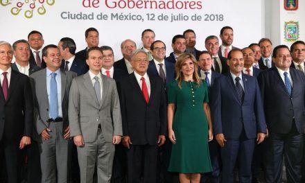 Gobernador:Reunión Conago-AMLOfortalece al federalismo