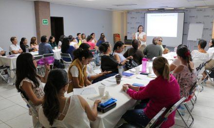 Imparten a personal del ICM taller de Tratade Personas con Perspectiva de Género