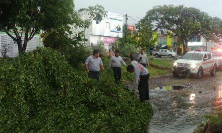 Atendió PC Municipal Colima contingencias por lluvias el pasado fin de semana
