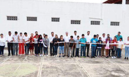 Inauguran ciclo escolar en Telesecundaria de Cofradía de Suchitlán