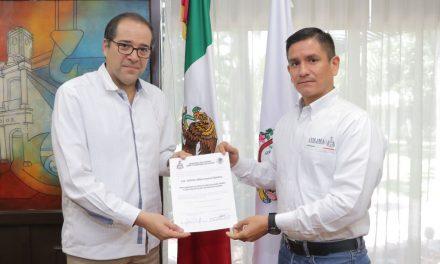 Adrián Menchaca García, fue nombrado Procurador de Protección  de Niñas, Niños y Adolescentes