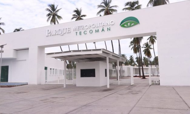 Parque Metropolitano deTecomán abrirá el domingo