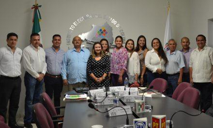 IEE Colima entrega constancias de diputaciones y regiduría de Colima